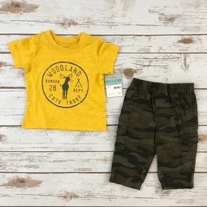 Carter's Tee & Pants Outfit